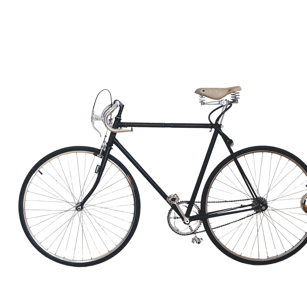 A Bicycle After Clipping Path Services