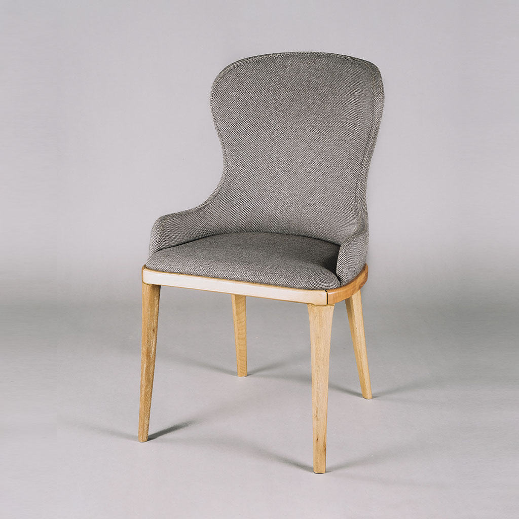 A Modern Dining Room Table Chair Before Clipping Path Services