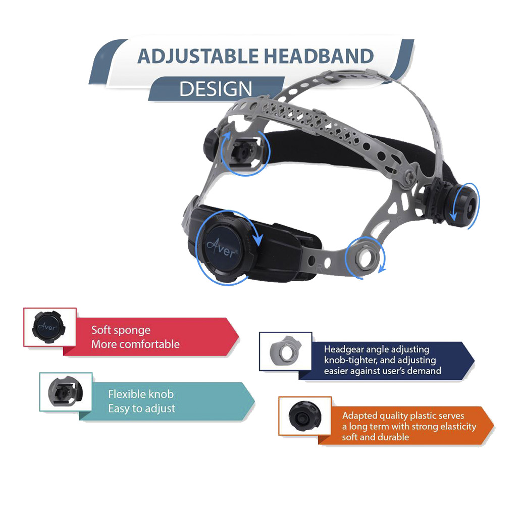 An Adjustable Headband After E-commerce Photo Editing Services